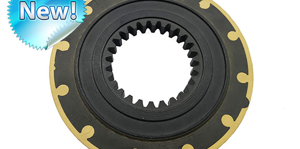 Thermoset core clutches with mechanical attachment!