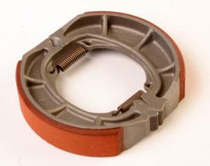 Brake assebly for motorbike. Friction discs. Ferodo. Friction material. Clutch. Brake. Friction Shoe. Material de fricción. Embrague. Freno. Zapata
