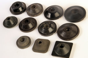 Diferentes modelos de patines de fricción para lavadora. Ferodo